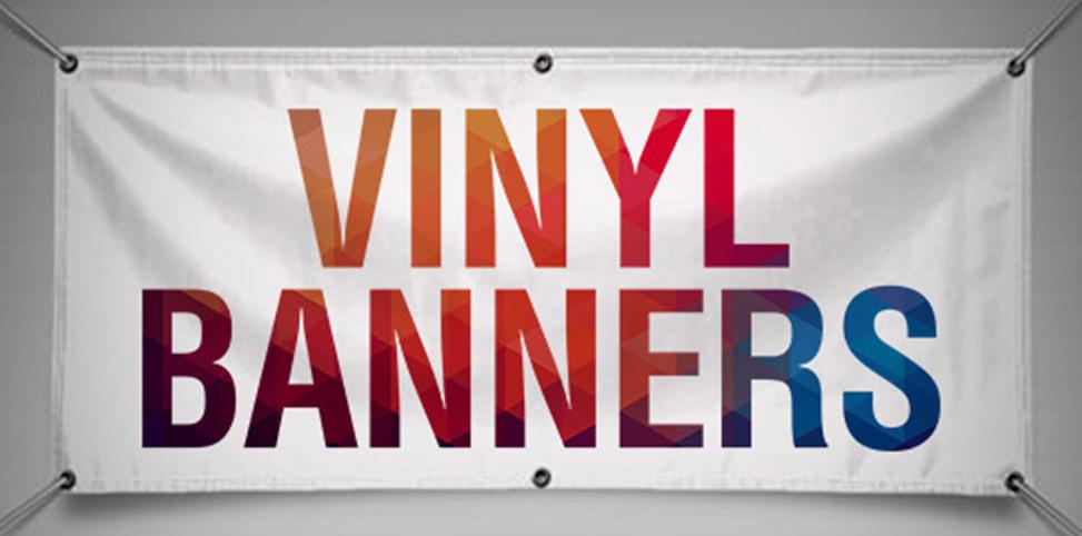High Quality Vinyl Banners